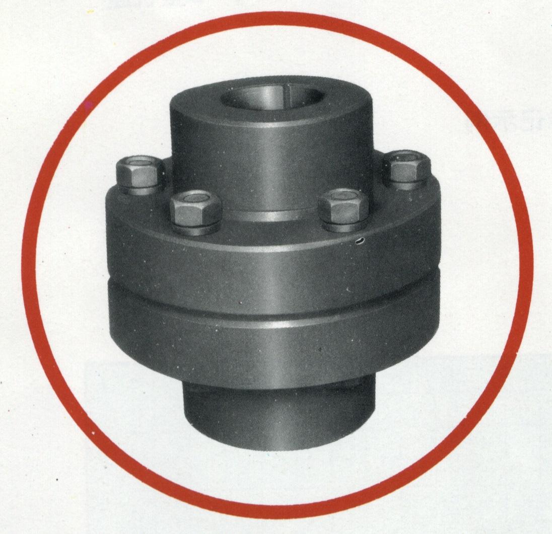 YL型凸缘联轴器(JB/ZQ4376-86)
