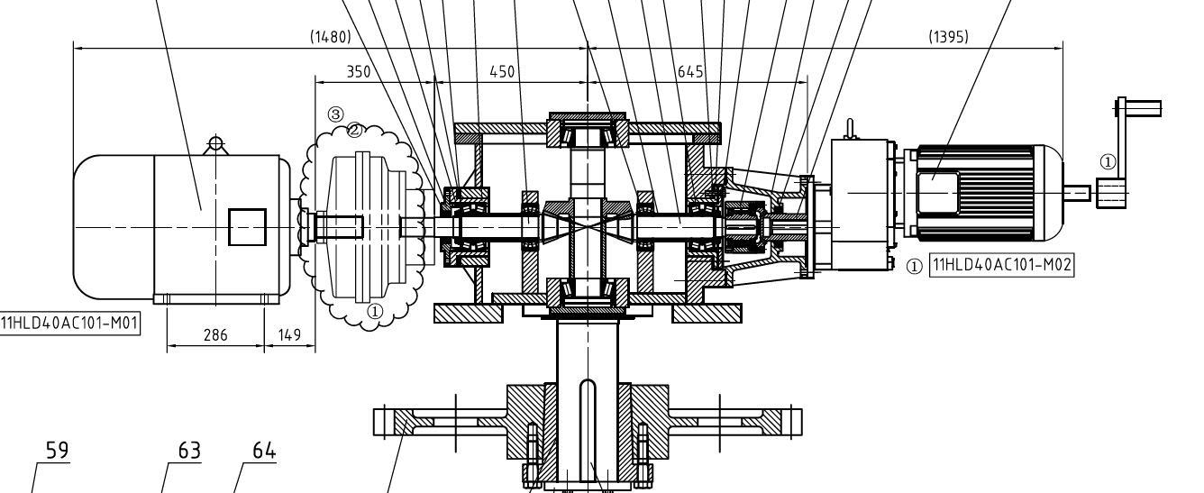 SGW600 空预器转子围带驱动装置SGW600-04转子围带驱动装置电厂用空气预热器减速器